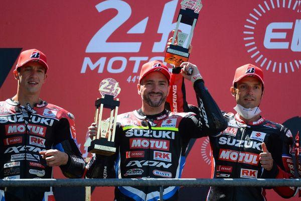 Gregg Black, ici après sa victoire aux 24 heures du Mans le 13 juin 2021.