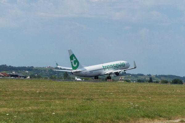 La compagnie Transavia a déposé ses premiers passagers à l'aéroport de Bergerac.