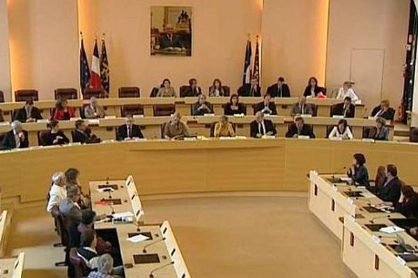 L'assemblée plénière du conseil régional de Franche-Comté