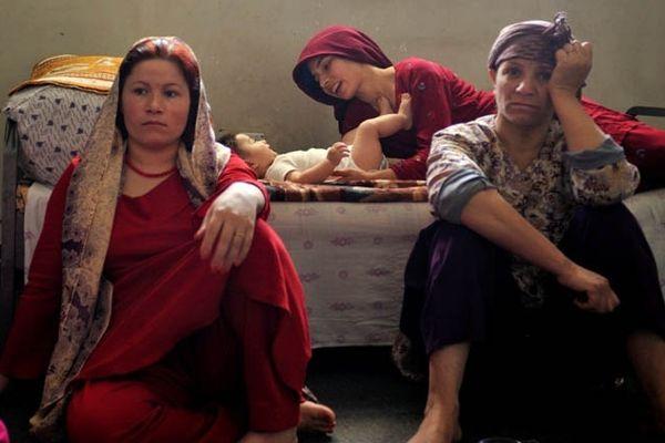Femmes Afghanes en prison, par Sonia Naudy