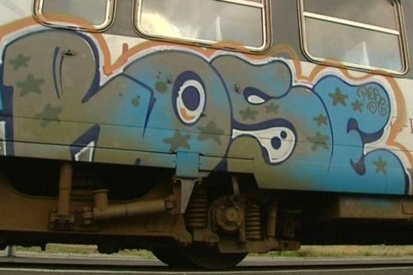 En Languedoc-Roussillon, la SNCF renforce son dispositif de lutte anti-tags.