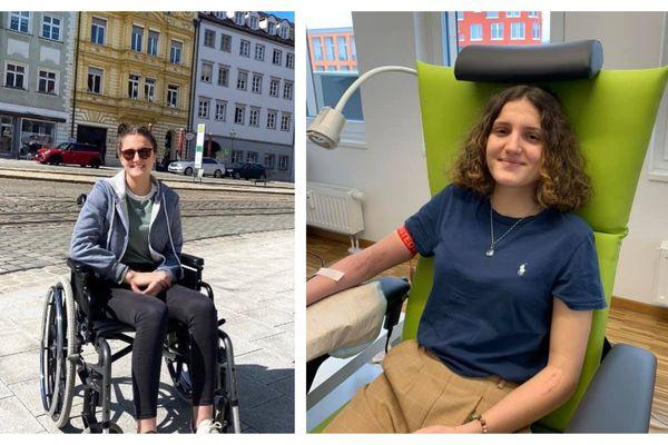 Jeanne Salvi, 18 ans est atteinte de la maladie de Lyme.