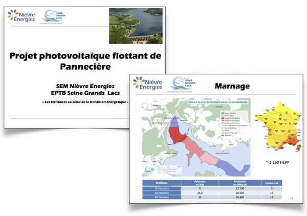 Extrait du document de présentation du projet.