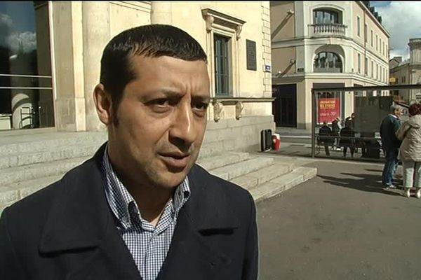 Sid-Ali Hamadaïne, en 2012