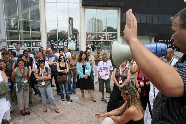 Les manifestations ont débuté dès 2007