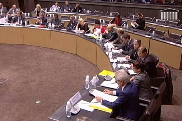 Le professeur Séralini entendu par trois commissions à l'Assemblée Nationale à Paris le mardi 9 octobre
