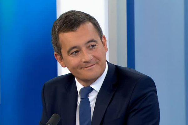 Gérald Darmanin s'exprimait pour la première fois en tant que ministre sur le sort du Canal Seine Nord