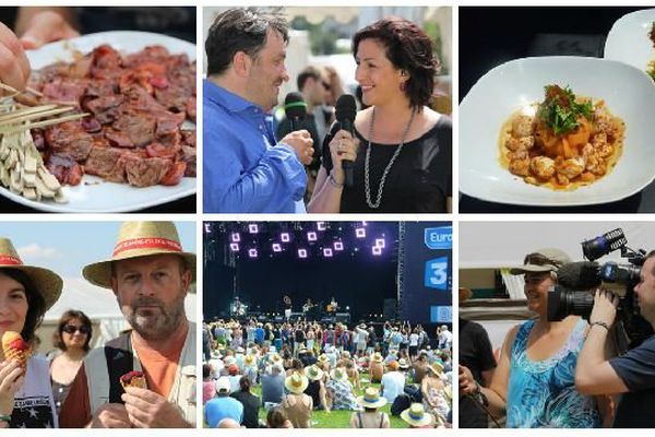 Retour sur les temps forts des Francos Gourmandes 2014 dimanche 15 juin à à 10h55, avec une émission spéciale de 52 minutes.
