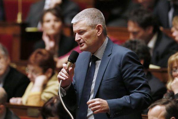 Olivier Falorni, député radical de gauche de Charente-Maritime à l'Assemblée nationale