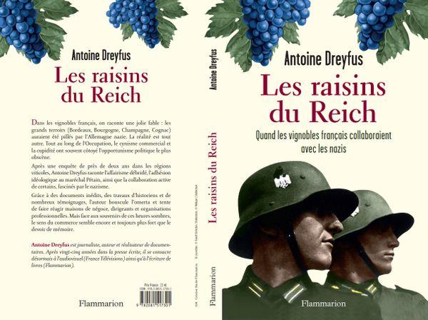 """La couverture de l'enquête d'Antoine Dreyfus, """"Les raisins du Reich""""."""