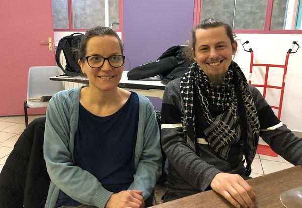 """Sophie Pierrat et Christophe André sont membres et bénévoles actifs de l'association nilvangeoise """"Le Berceau du Faire""""."""