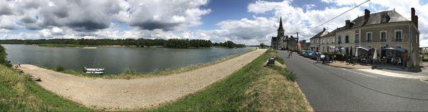 Dans le village emblématique des bords de Loire