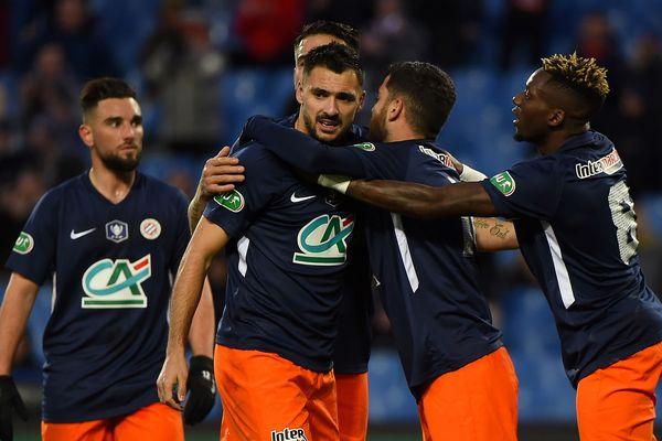 Montpellier : Téji Savanier ouvre le score sur penalty