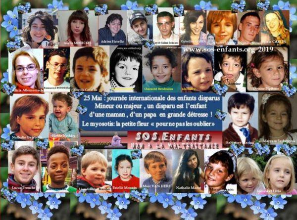 Le 25 mai marque la journée internationale des enfants disparus.