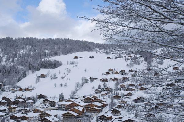 La Clusaz, en Haute-Savoie, en décembre 2020.