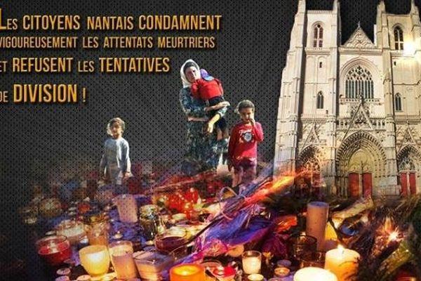 Un rassemblement citoyen est organisé ce jeudi 28 juillet 2016 sur le parvis de la cathédrale de Nantes