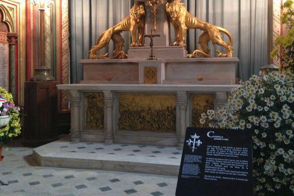 La nouvelle signalétique de la cathédrale d'Orléans