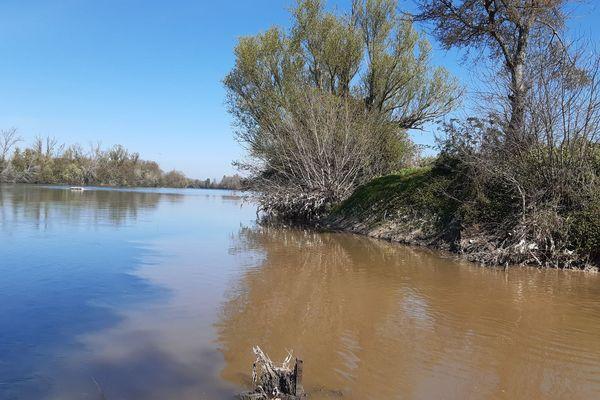 Depuis ce samedi 20 mars, une eau marron s'écoule dans la Garonne.