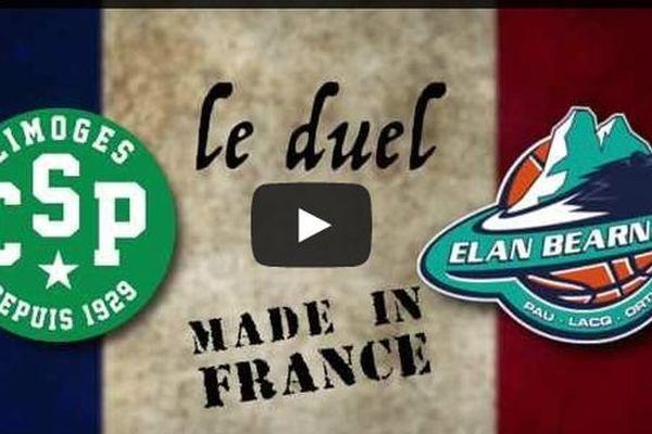 Le duel Limoges CSP - Elan Béarnais