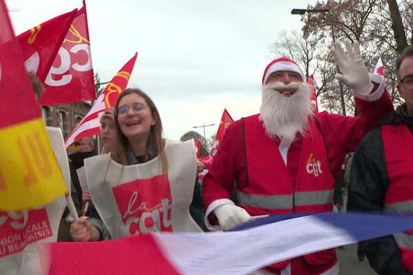 Le Père de Noël était de la partie à Beauvais