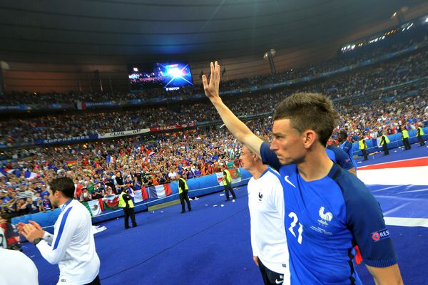 Laurent Koscielny en Bleu, une image que l'on ne verra plus.