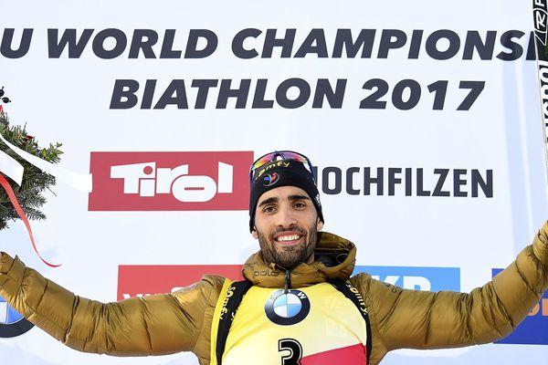 Et de 10 ! Avec la médaille d'or en poursuite, le champion de biathlon catalan Martin Fourcade a obtenu son 10ème titre mondial individuel, ce dimanche en Autriche où se déroulent les Mondiaux-2017. L'or en poursuite