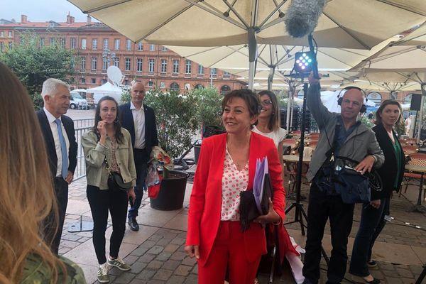 Toulouse - Carole Delga conserve la région Occitanie avec près de 58% des suffrages -27 juin 2021.