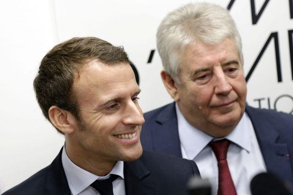 Jean-Louis Fousseret, ex-socialiste, a été l'un des premiers soutiens d'Emmanuel Macron