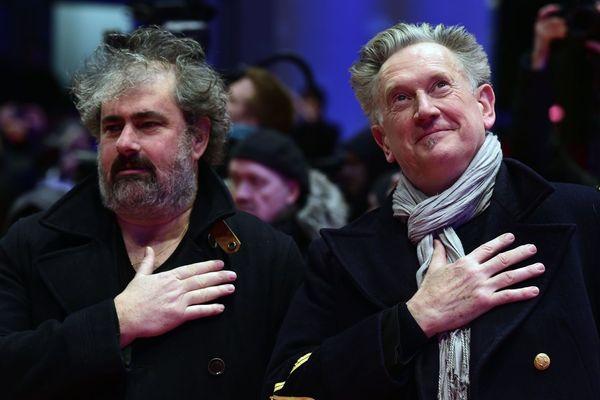 Gustave Kervern et Benoit Delepine, ici à la 66e Berlinale Film Festival de Berlin, sont les co-présidents du jury Longs-métrages du Festival du film fantastique de Gérardmer 2019.