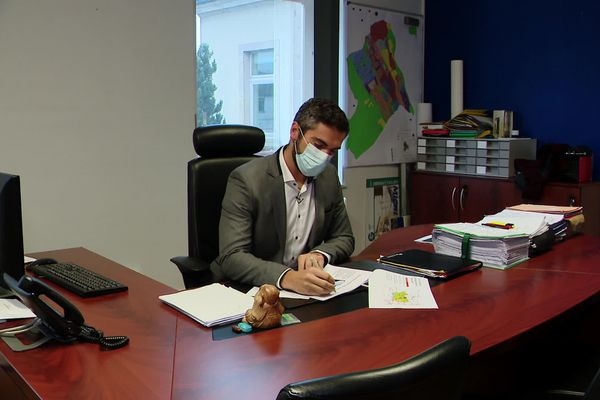 Cédric Haxaire, maire de Capavenir-Vosges propose un référendum le 8 novembre