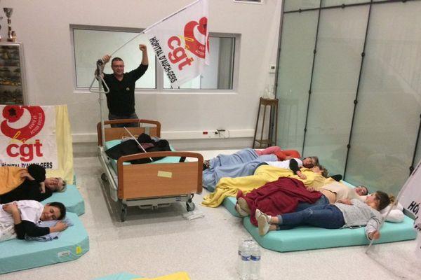 Une dizaine de salariés a dormi dans les locaux de l'EHPAD, dans la nuit de mardi à mercredi