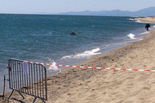 Illustration : ici la plage de Torreilles (Pyrénées-Orientales), où 8 obus ont été découverts en juin.