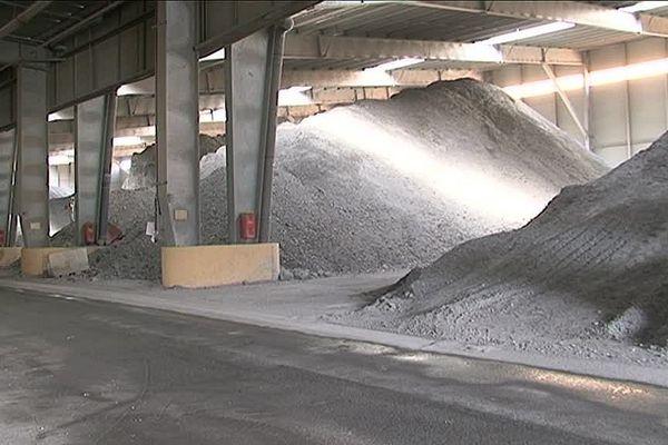 L'entreprise Cydel, à Calce, recycle les déchets ménagers catalans en mâchefers pour la fabrication des routes.