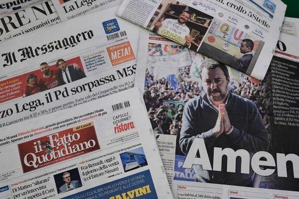 Le scrutin est analysé par la presse italienne.