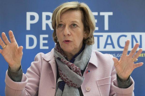 Michèle Kirry, préfète de la région Bretagne et d'Ille-et-Vilaine
