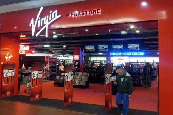 Le magasin Virgin de Roques-sur-Garonne