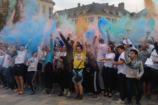 Chartres organise ce jeudi son premier Color Run