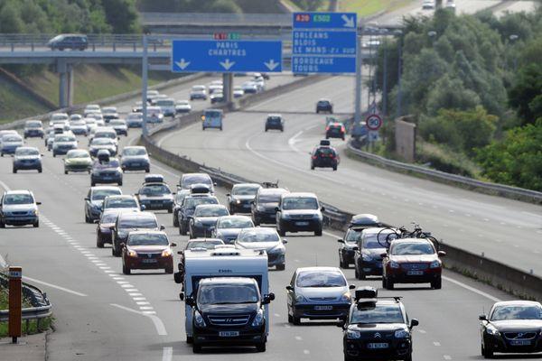 Des travaux prévus sur l'A81 à hauteur de l'échangeur A81 et A11 (photo d'illustration)