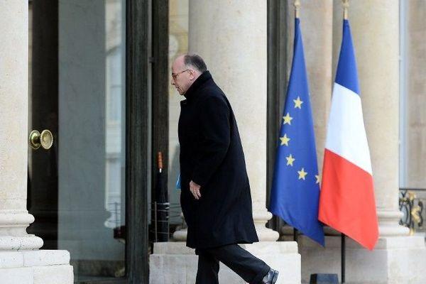 Bernard Cazeneuve à l'Elysée ce mardi 22 mars