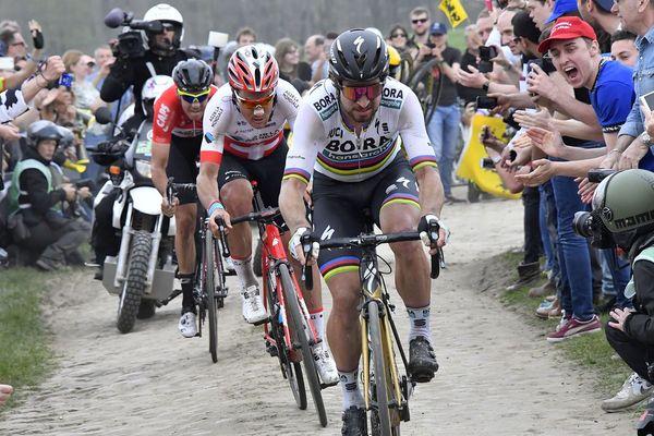 Peter Sagan, vainqueur du Paris-Roubaix - édition 2018