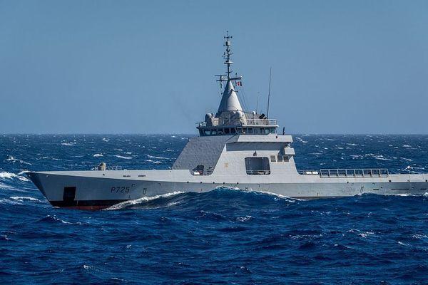 Le patrouilleur L'Adroit de la Marine nationale - archives