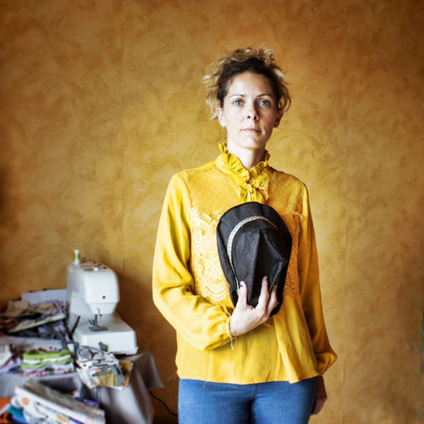 Eloïse, couturière solidaire de Besançon