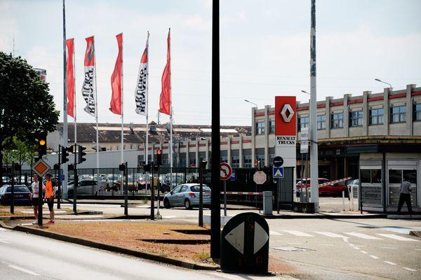 Le siège de Renault Trucks à Saint-Priest, dans la Métropole de Lyon.