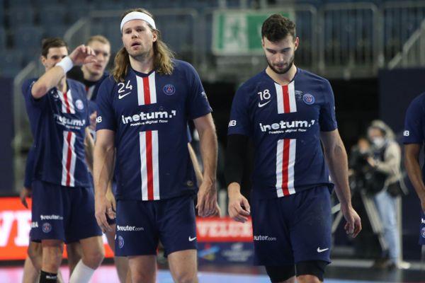 Les joueurs du PSG Handball