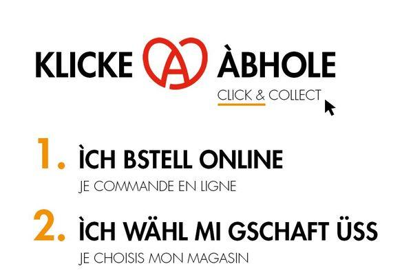 Click and collect en alsacien haut-rhinois, ça se dit comment ?