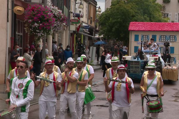 A Chagny, un air de carnaval au mois d'août