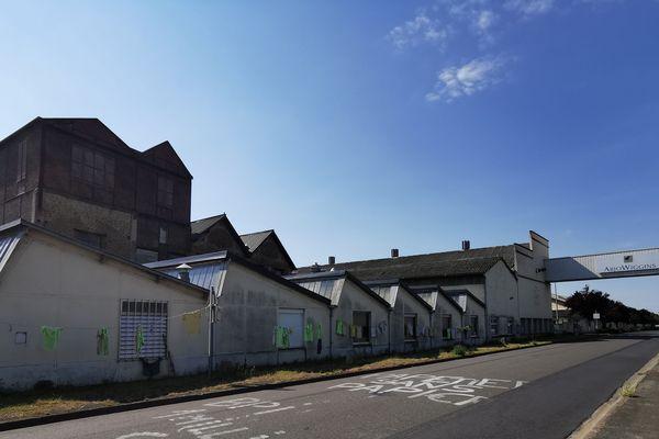 Usine Arjowiggins, site de Bessé-sur-Braye