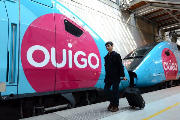 Des TGV Ouigo en gare de Marne-la-Vallée. Tourcoing sera prochainement desservi.
