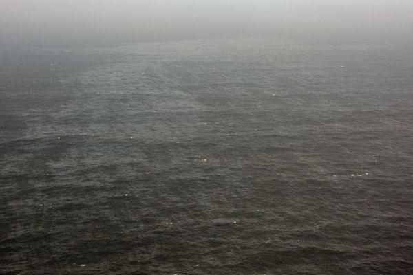 Une nappe de pétrole de 10 kilomètres sur 1 kilomètre s'est échappée du Grande America le 14 mars 2019