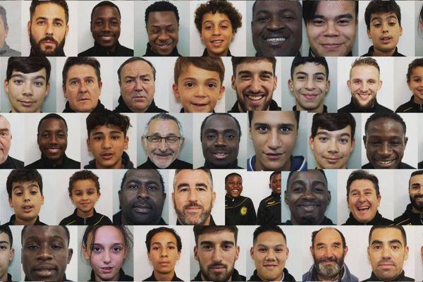 Les visages de l'AS Ginglin-Cesson